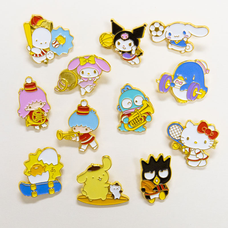 Sanrio Characters Sports Enamel Pin