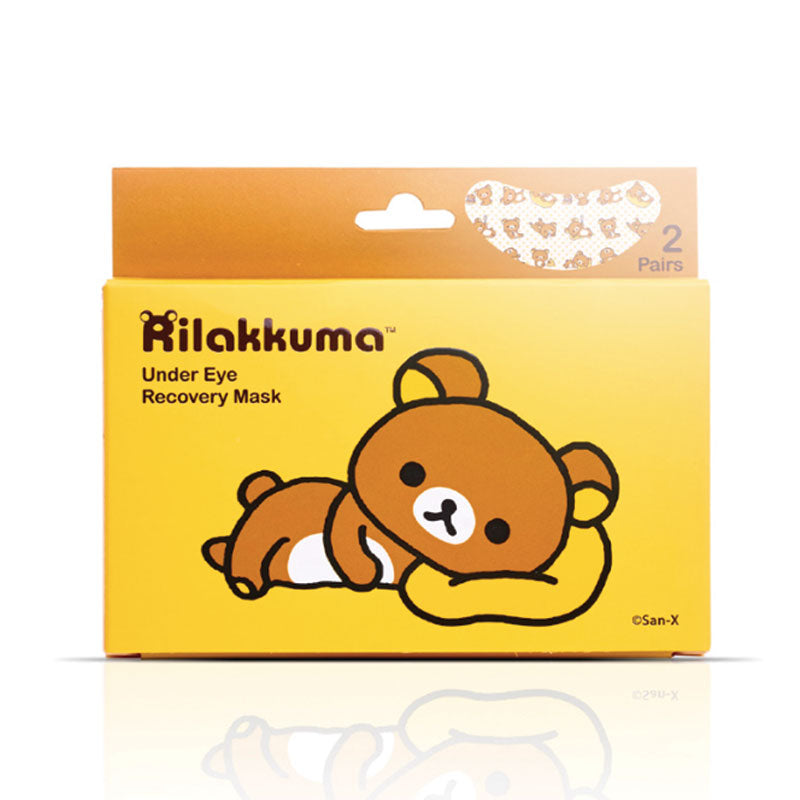 Rilakkuma Beauty Under Eye Recovery Mask