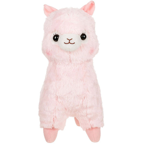 Pink Alpaca Medium Plush