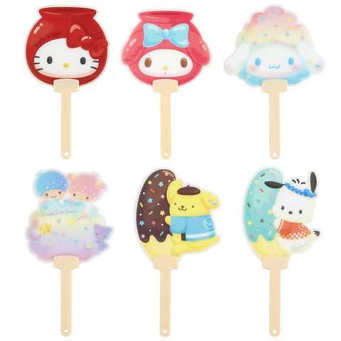 Sanrio Character Japanese Festival Treat Fan