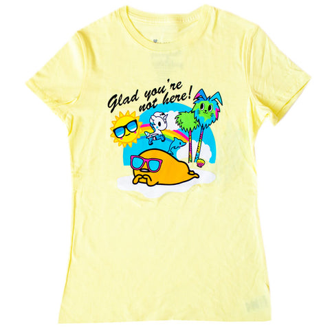 Glad You're Not Here Women's Tee