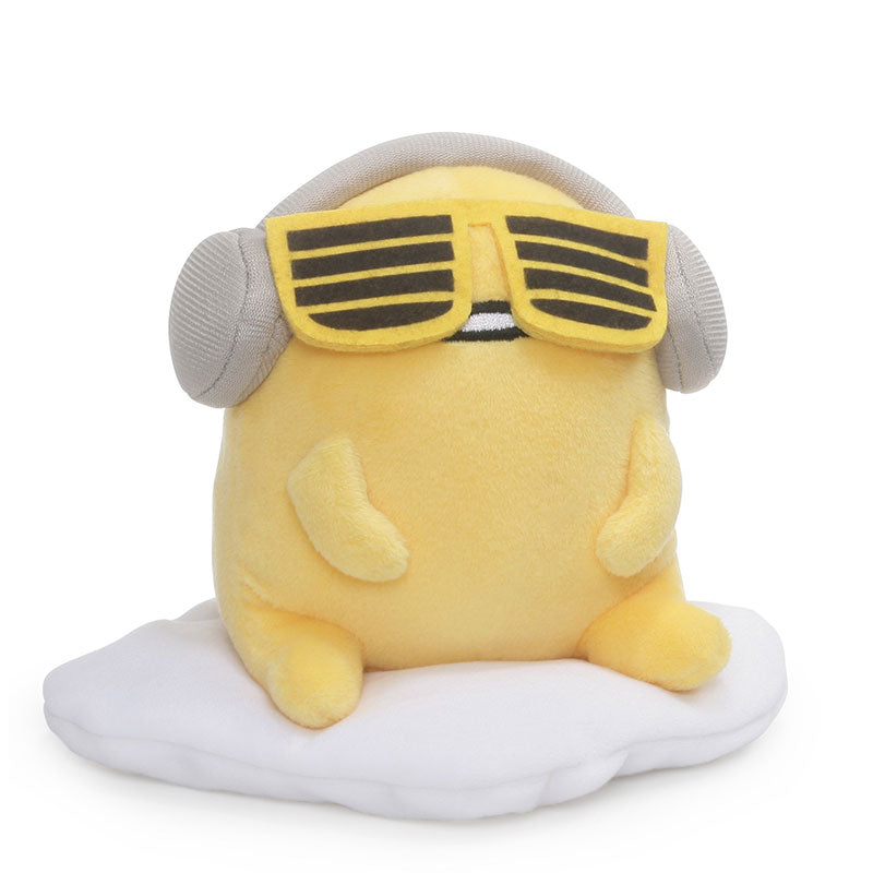 Gudetama Headphones Small Plush