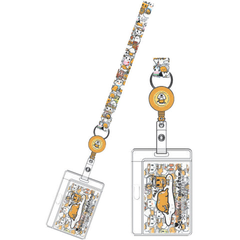 tokidoki x Gudetama Yellow Key Leash
