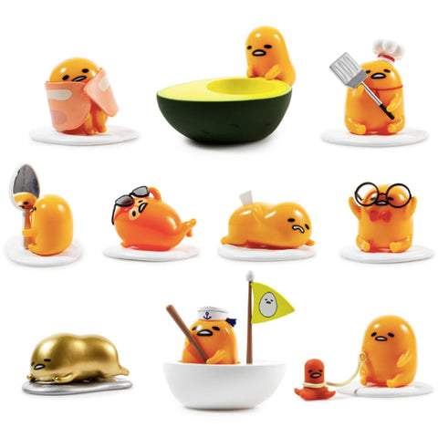 Gudetama Eggstra Lazy Vinyl Mini Figure Blind Box