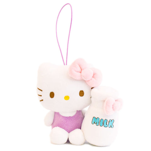 Hello Kitty Cupcake Mascot Plush Charm