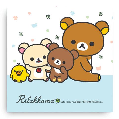 Rilakkuma Happy Life Canvas Art Print