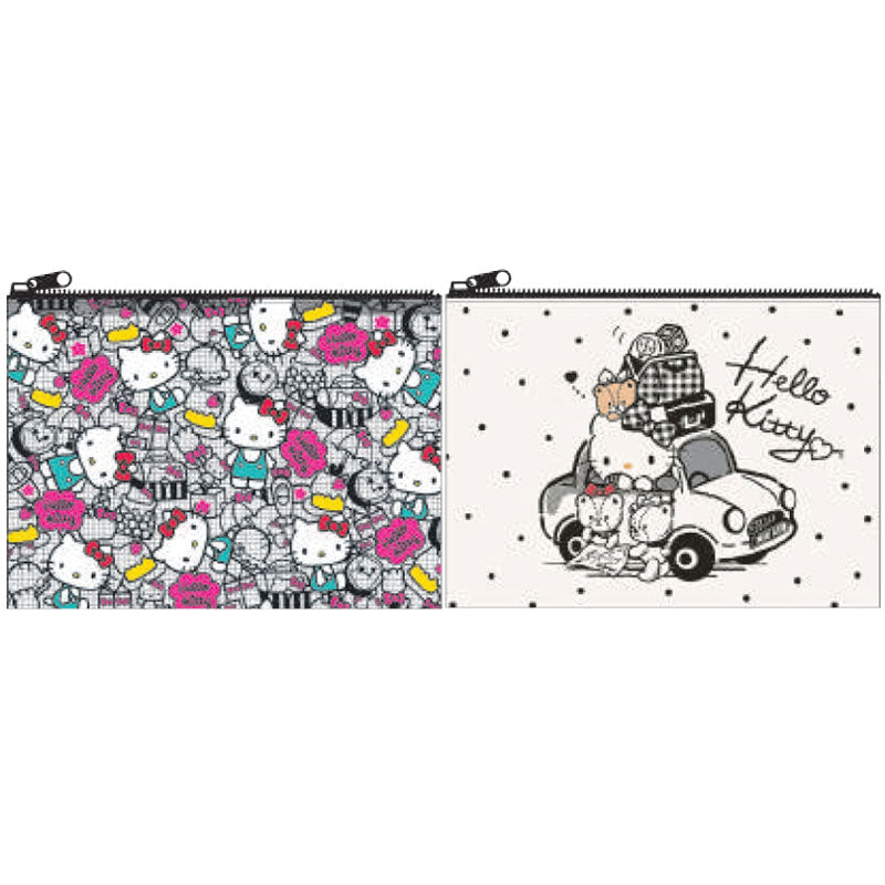Hello Kitty Clear Flat Pouch