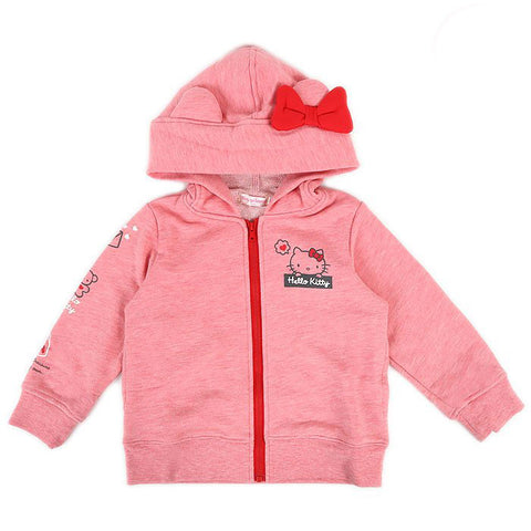 Hello Kitty Kids Red Zip Up Hoodie