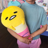 Gudetama Ice Cream Cushion