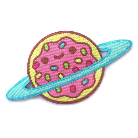 100% Soft Jelly Donut Galaxy Patch