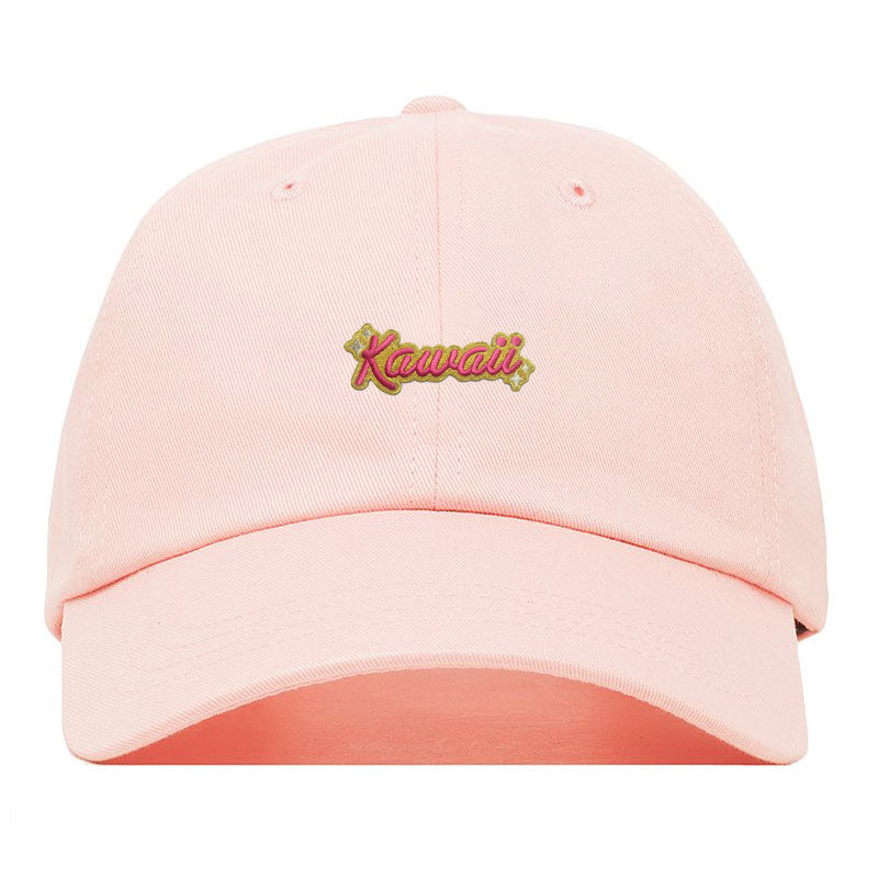 100% Soft Kawaii Pink Dad Hat