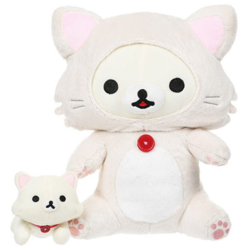 Korilakkuma Playing with Cat Plush