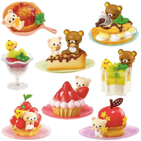 Rilakkuma Fruits and Sweets Re-Ment Blindbox