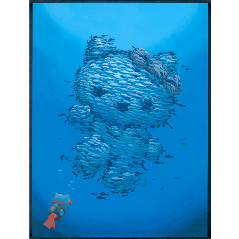 Hello Kitty Fishy Greetings 2.0 Print