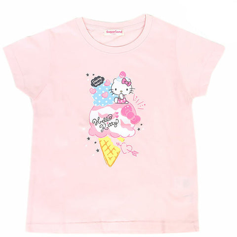 Hello Kitty Pink Ice Cream Kid's Tee