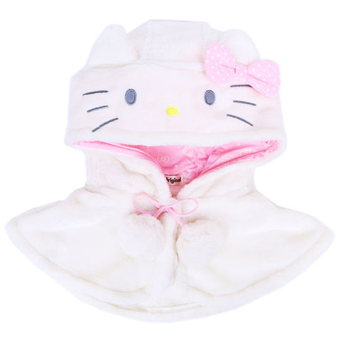 Hello Kitty Kids Fuzzy Hooded Cape