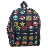 Super Mario All Over Print Mini Backpack