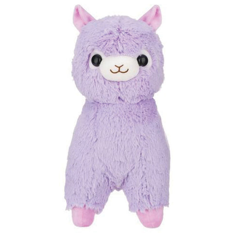 Lavender Alpacasso with Saddle Medium Plush