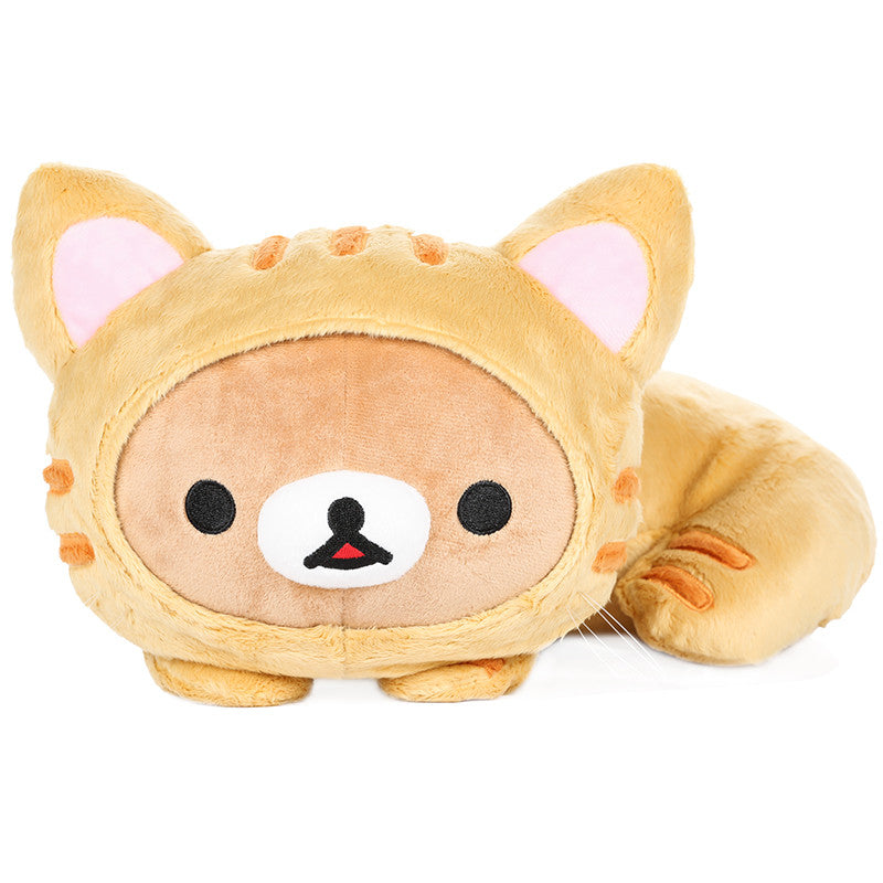 Rilakkuma Tiger Laying Down Plush