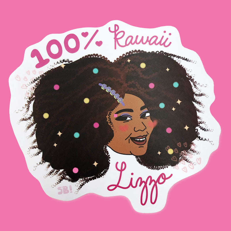 Kawaii Lizzo Sticker