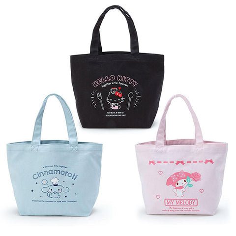 Sanrio Character Insulated Canvas Lunch Bag Tote
