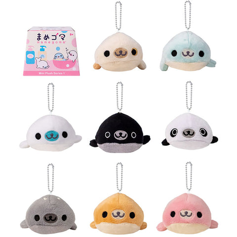 Mamegoma Plush Keychain Blind Box