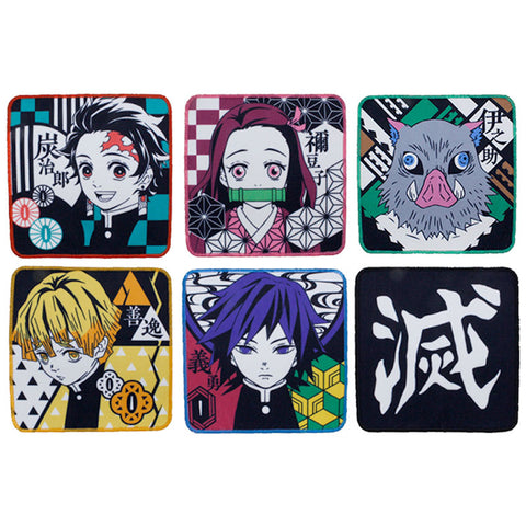 Demon Slayer Mini Towel Gashapon Capsule