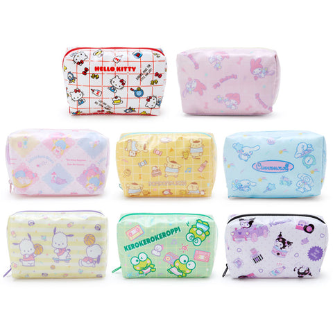Sanrio Character Medium Vinyl Zipper Pouch