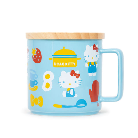 Hello Kitty Kitchen Mug with Lid