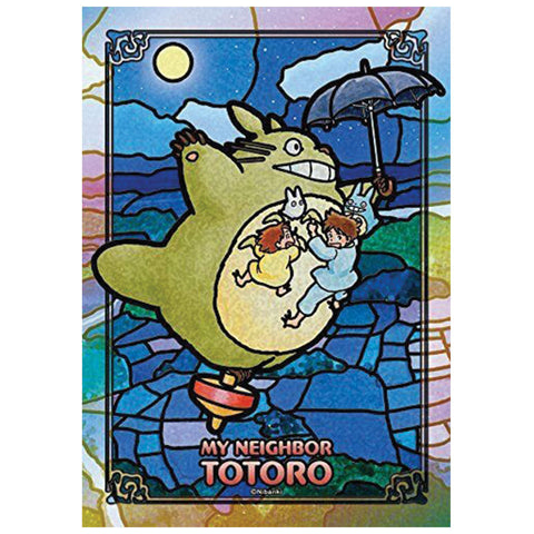 Flying Totoro Art Crystal Puzzle