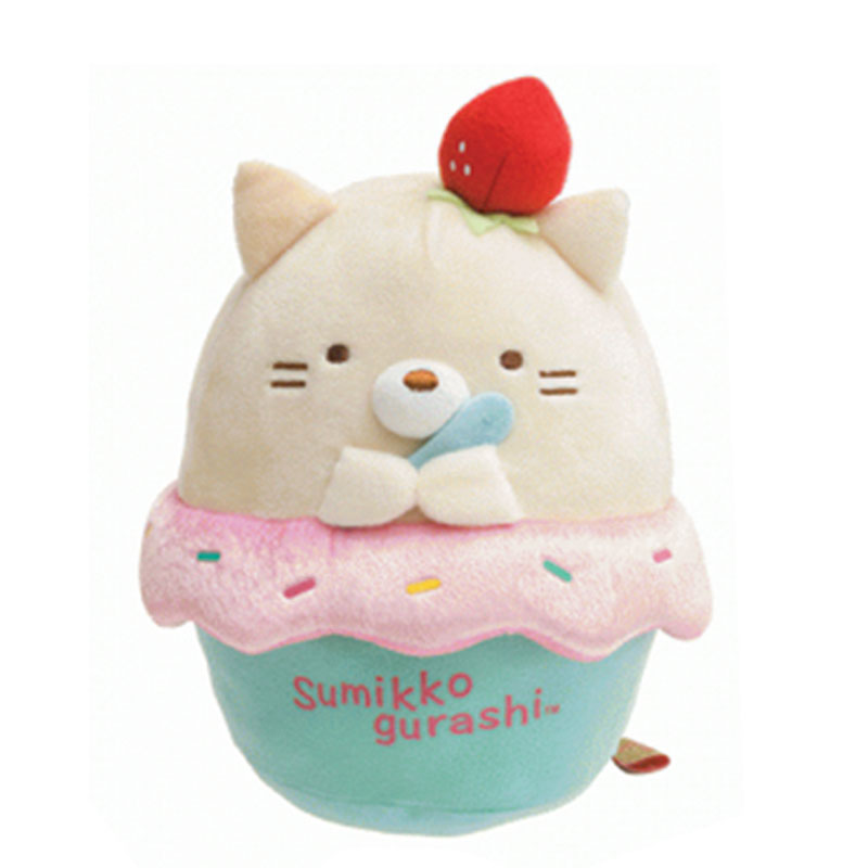 Neko Ice Cream 6 inch Plush