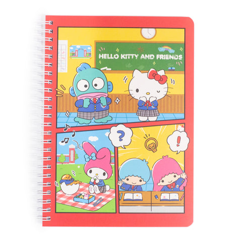 Sanrio School Day Spiral Notebook