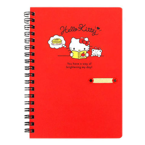 Hello Kitty B6 Spiral Notebook