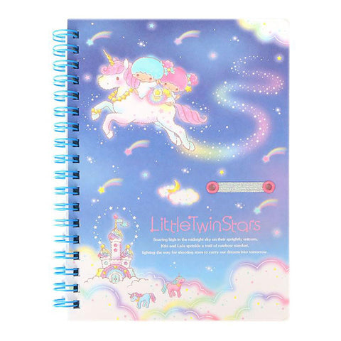 Little Twin Stars B6 Spiral Notebook
