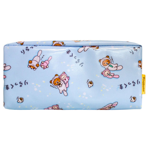 Rilakkuma Sea Otter Blue Pencil Pouch