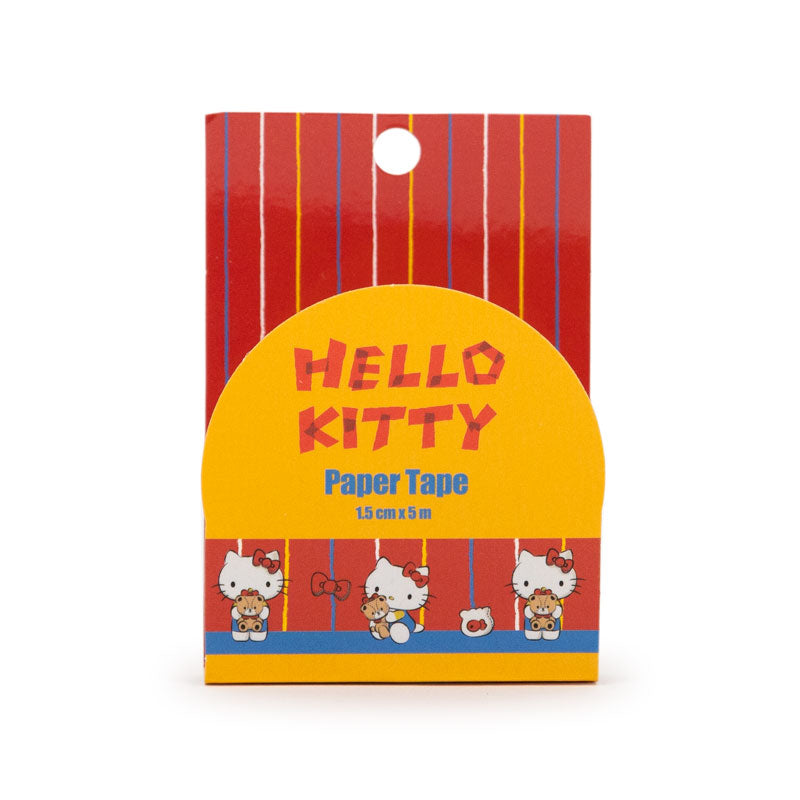 Hello Kitty Classic Red Sparkle Paper Tape