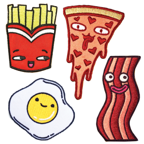 Sparklebombb Food Patches