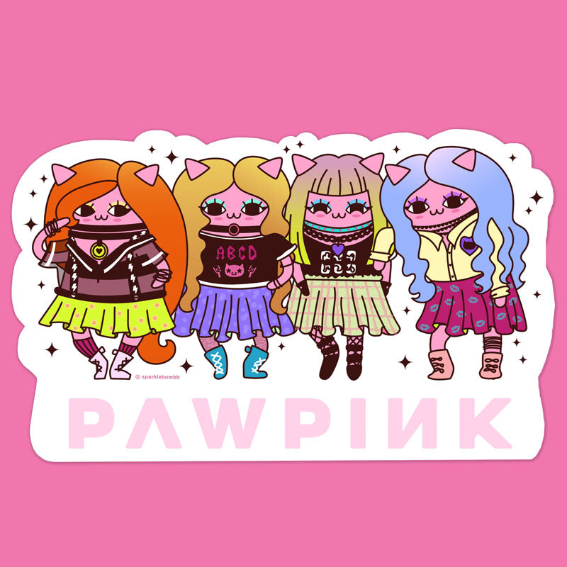 PAWPINK Sticker