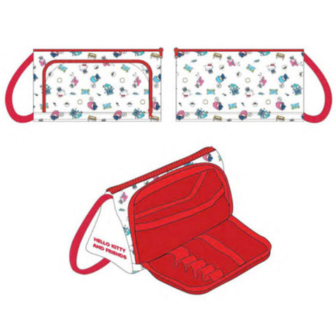 Hello Kitty & Friends White Pencil Case