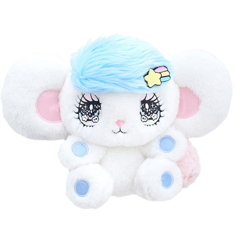 Peropero Sparkles Large Melo Plush Blue Hair