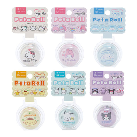 Sanrio Peta Roll Sticker Tape