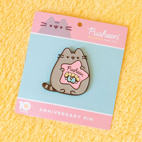 Gift with Purchase Pusheen x JapanLA Enamel Pin