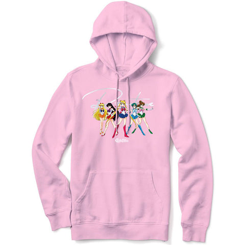 Primitive x Sailor Moon Ginza Scouts Pink Hoodie