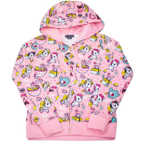 Gudetama Take Out Pink Hoodie