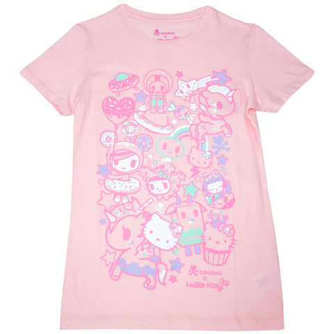 Hello Dreamy Pink Women's Tee