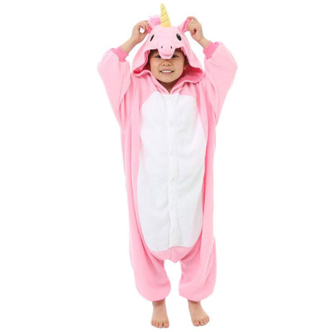 Pink Unicorn Kids Kigurumi
