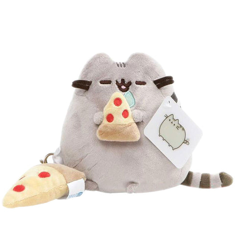 Pusheen Pizza Plush with Pizza Charm