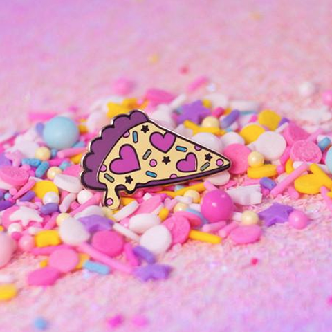 Pretty Pizza Pin