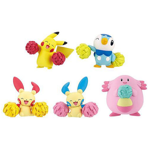 Pokemon Pom Pom Cheer Gashapon Capsule