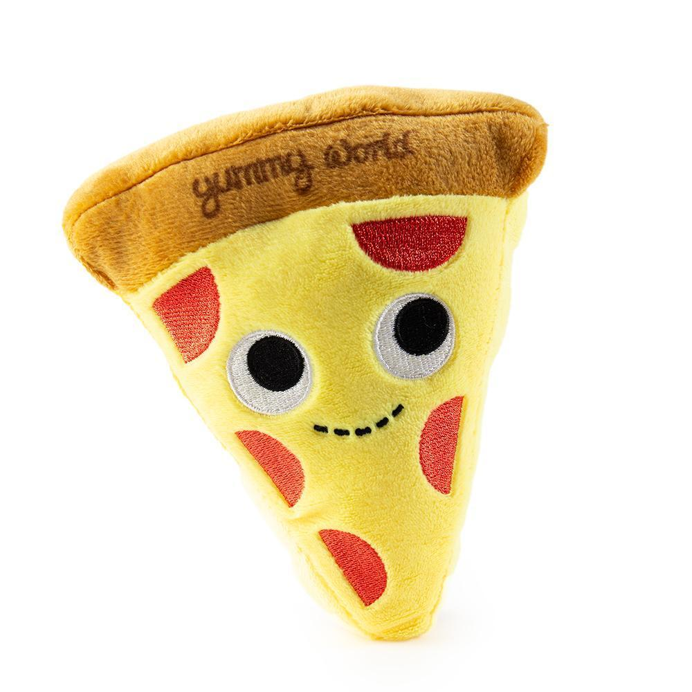 "Yummy World 6"" Pizza Squeaky Dog Toy"